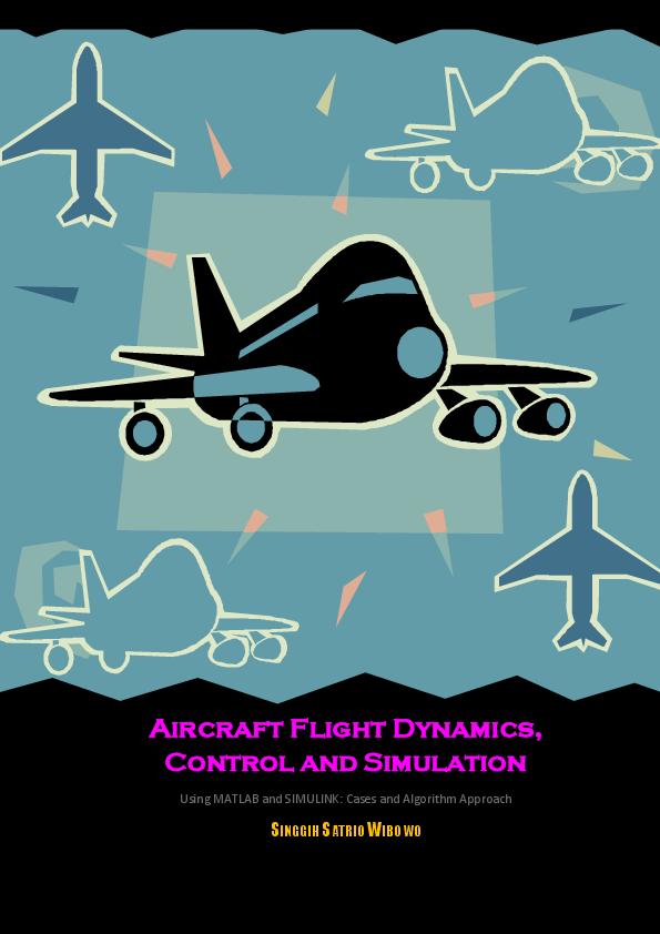 کتاب شبیه سازی، کنترل و دینامیک پرواز